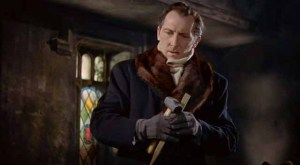 Peter Cushing as Van Helsing