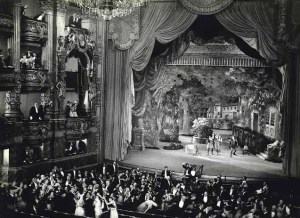 The Paris Opera House, as seen in the film adaptation