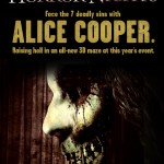 Alice Cooper Goes to Hell 3D Halloween Horror Nights 2012