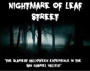 nightmare on leaf street
