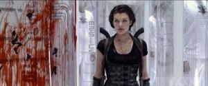 Alice (Milla Jovavich) surveys another fine mess.