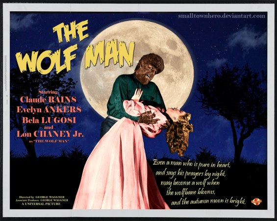 The Wolf Man (1941) color horizontal poster