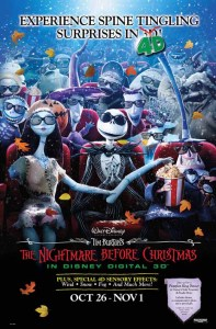 nightmare before christmas poster 4d
