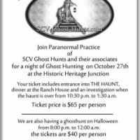 Paranormal Practice Real Ghost Hunt 2012