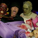 Rocker Tommy Lee at Halloween Horror Nights 2012