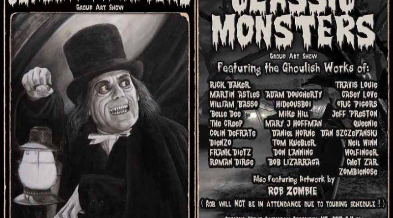 classic monsters art show