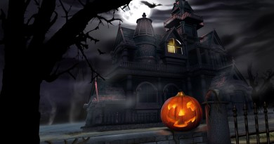 Halloween-spooky-house-dark-night