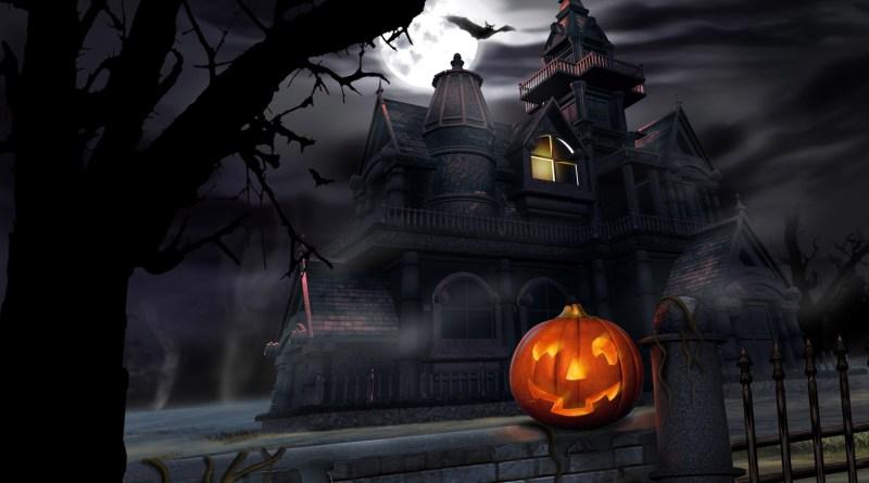 Halloween-spooky-house-dark-night