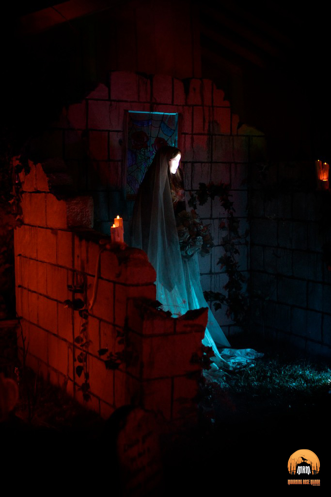 Mourning Rose Manor 2013 Bride in Black
