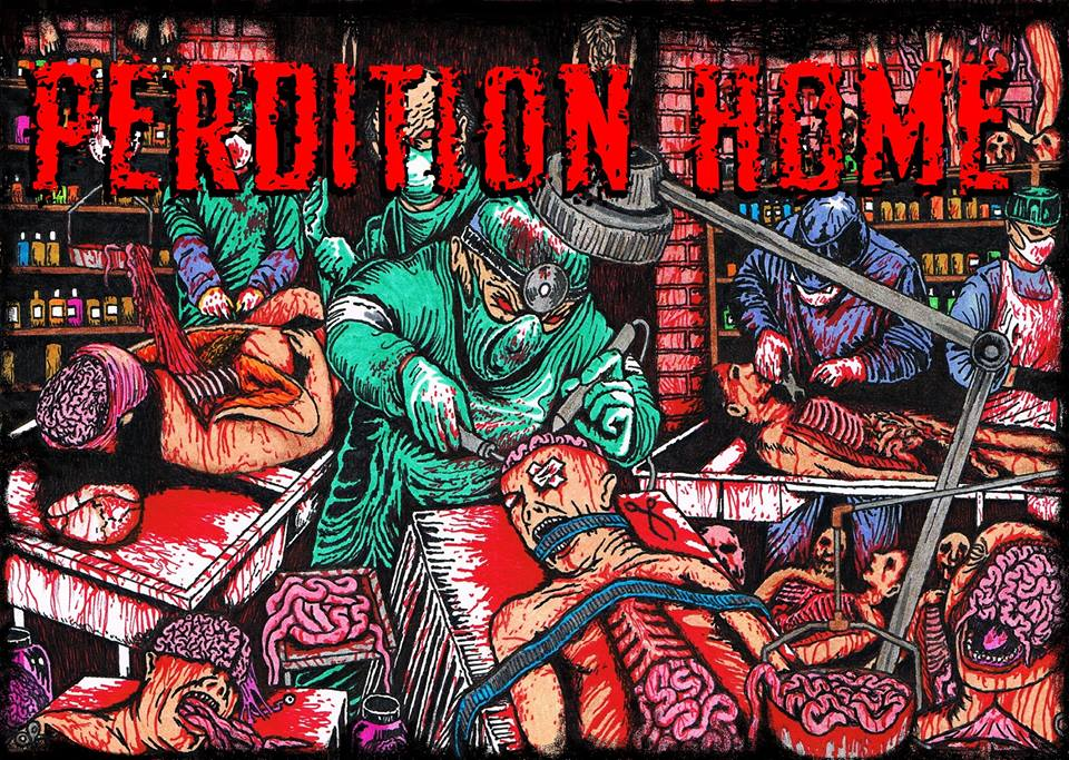 The Perdition Home Yard Haunt