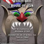 Wilsley Brothers House of Fun 2014 revised flier