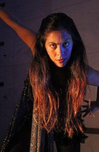 Melissa Grace Perl as La Llorona at Wicked Lit