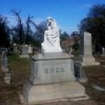 Long Beach Historical Cemetery Tour 2014: Rhea
