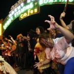 Zombie Crawl on Santa Monica Pier