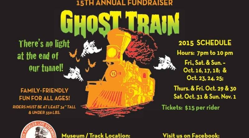 Ghost Train 2015 ad