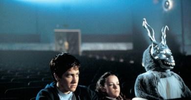 Donnie Dark theatre with rabbit
