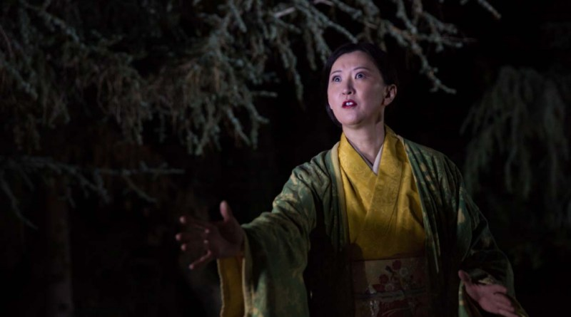 "Sachiyo K in ""The Grove of Rashomon."" Photo by Daniel Kitayama"