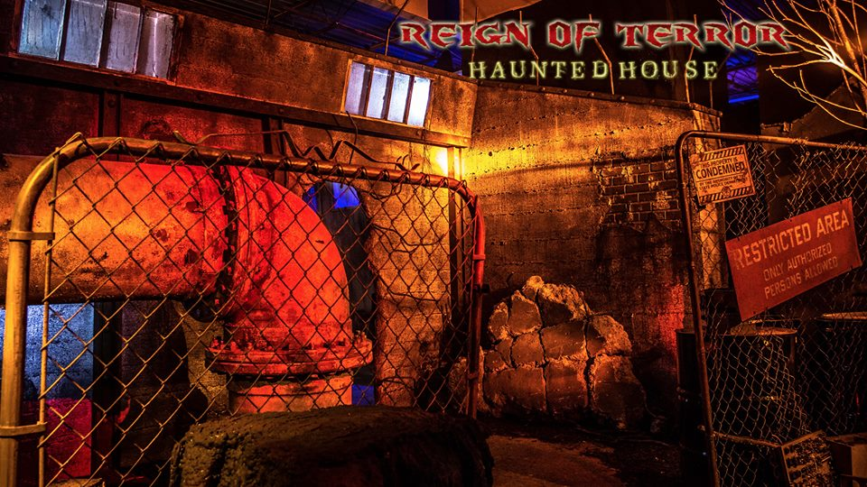 Reign of Terror Haunted House 2015 review