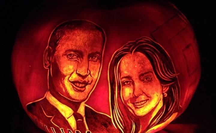Rise of the Jack O'Lanterns 2015 couple