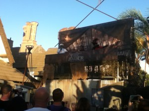 The entrance to Dark Harbor
