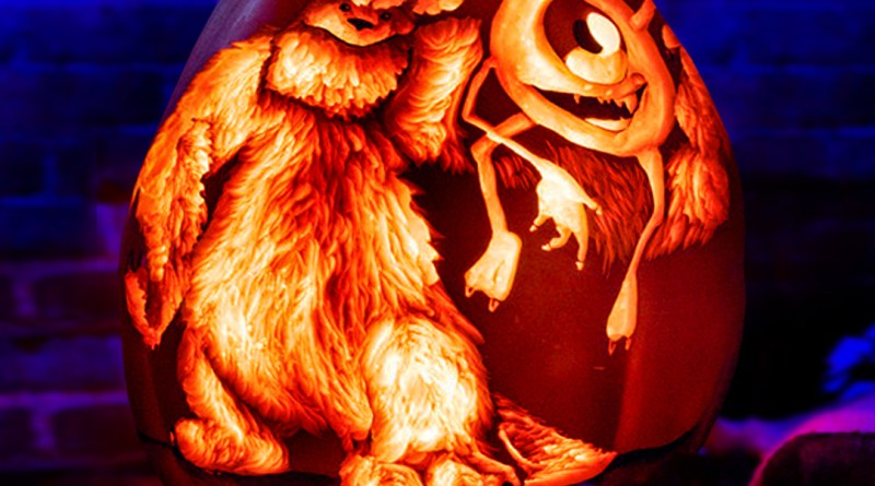 monsters-inc-art-pumpkin