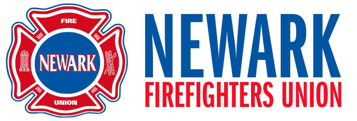 Newark Firefighters Union Retina Logo