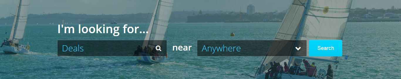 Our local search functionality