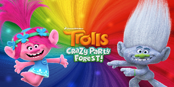 Trolls Crazy Party Forest Hack Cheat Golden Cupcake, Silver