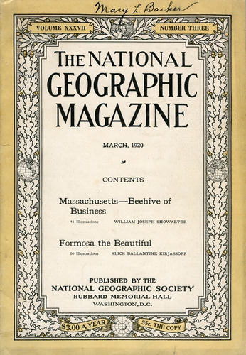 Formosa the Beautiful -- National Geographic Magazine, March 1920 1