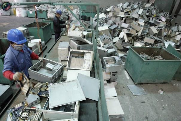 Pichi Chuang recycling factories