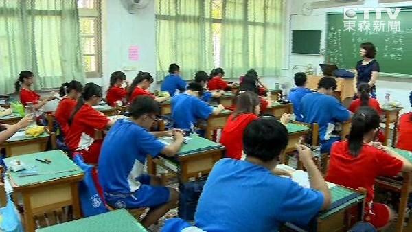 國中畢業門檻提高,數萬國中生可能無法順利畢業。 圖片來源:東森新聞
