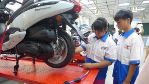 技職教育著重工作技能的培養。 圖片來源:台灣立報