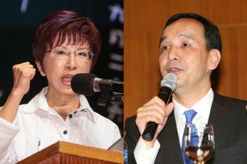 洪秀柱失去黃復興黨部的支持。 圖片來源:雅虎奇摩新聞