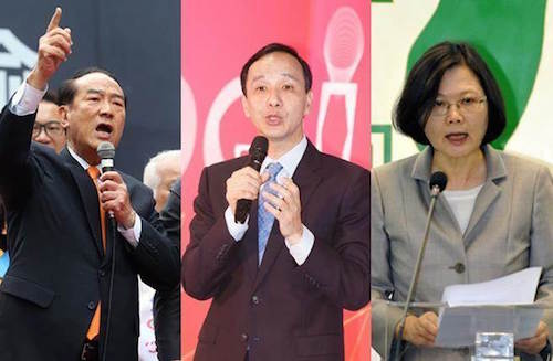 總統大選辯論會,有五成一的鄉民沒期待。 圖片來源:中國時報