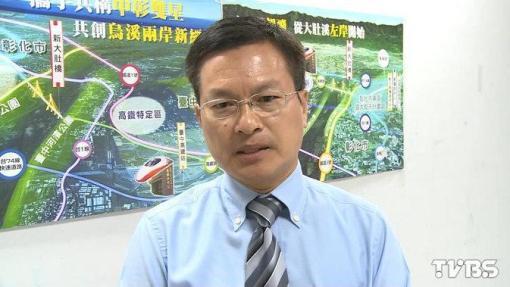 彰化縣長魏明谷背負彰化縣民的期待。 圖片來源:TVBS