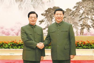 習近平在胡錦濤之後接下中國最高統治者的大位。 圖片來源:開放網
