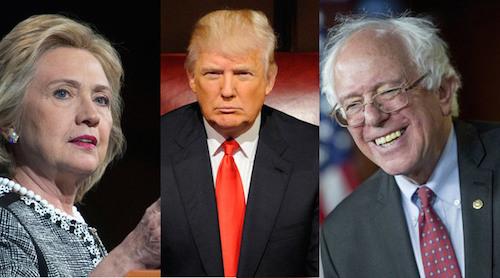 2016美國總統大選到底誰會勝出? 圖片來源:蘋果日報