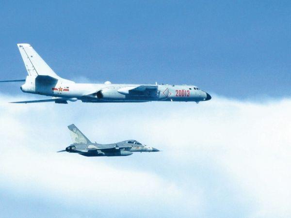 空軍具備攔截共機的能力。 圖片來源:聯合報