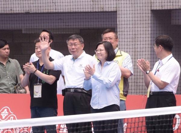 民進黨在台北市長選舉「禮讓」柯文哲? 圖片來源:柯文哲臉書