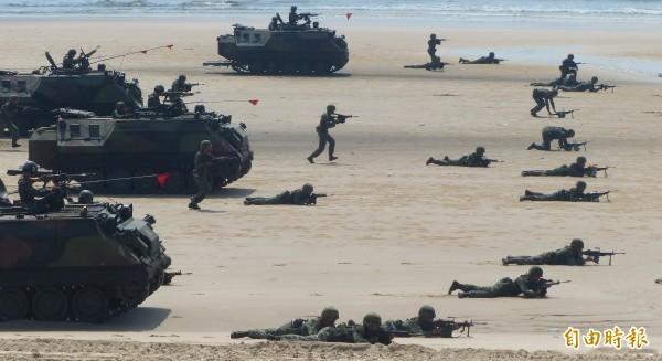 台灣被列為北韓之外最可能發生世界大戰的地方。 圖片來源:自由時報