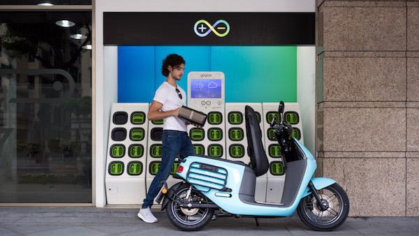 Gogoro電池規格將成為台灣公版。 圖片來源:Gogoro