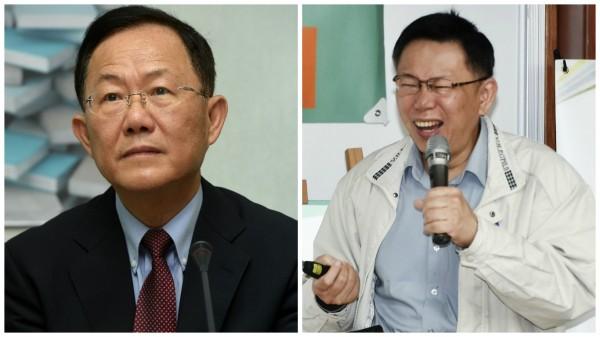 台北市長選舉若只有柯文哲與國民黨候選人,你選那個? 圖片來源:自由時報