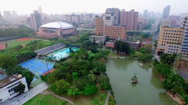 台大資源豐富,台灣最大。 圖片來源:看見台大