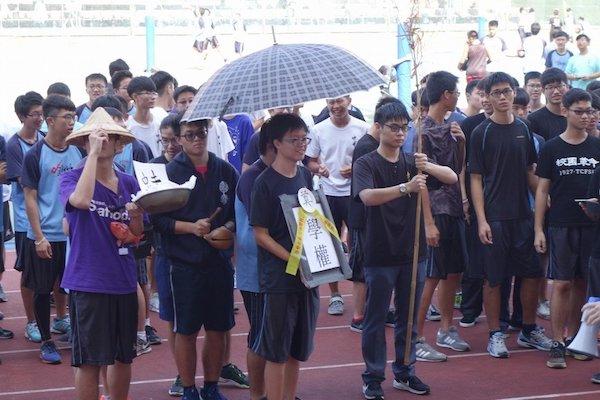 近來校園民主與學生自治意識抬頭。 圖片來源:聯合新聞網