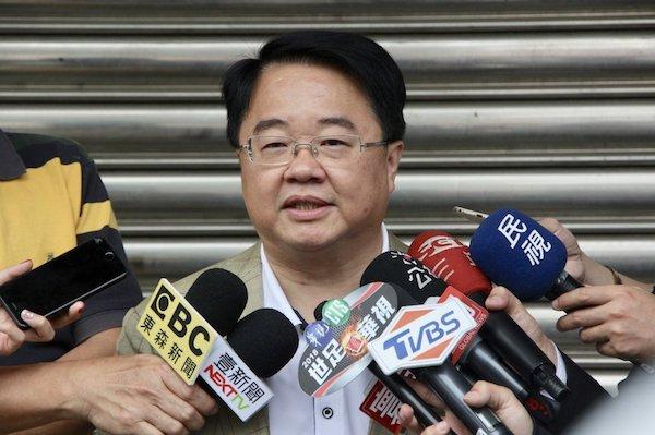 吳秉叡宣佈放棄爭取新北市長黨內提名。 圖片來源:聯合新聞網