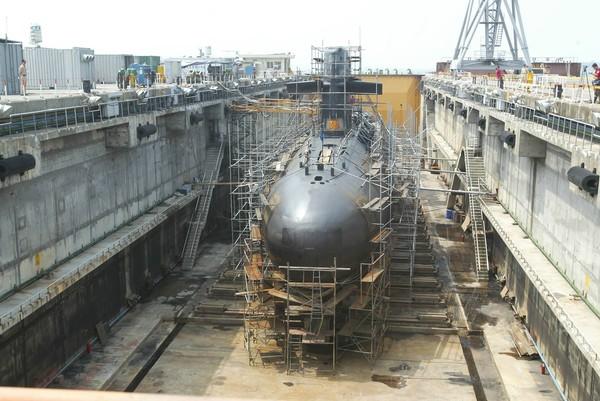 潛艦國造露出曙光。 圖片來源:東森新聞