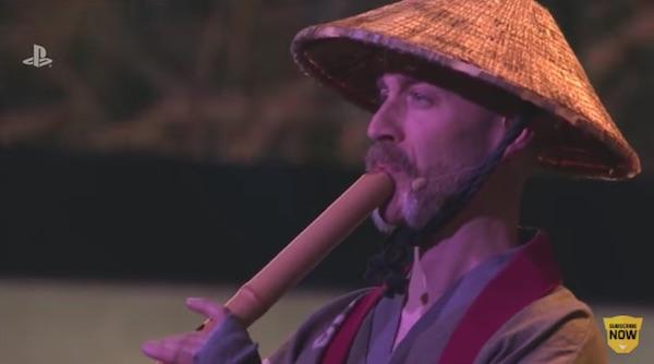 這位外國人是日本笛的大師。 圖片來源:Online Rockerz