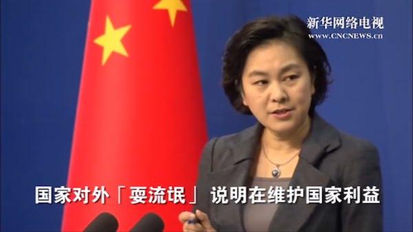 中國耍流氓維護國家利益? 圖片來源:新華網