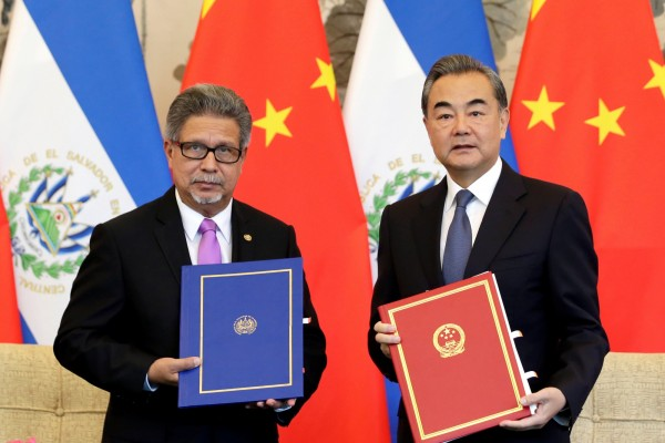 薩爾瓦多與台灣斷交並與中國建交。 圖片來源:自由時報