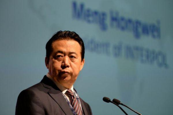 被失蹤的國際刑警組織主席孟宏偉。 圖片來源:雅虎奇摩新聞